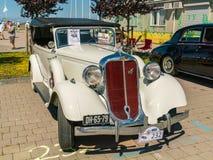 Eviti il Oldtimer al giorno nazionale annuale del oldtimer in Lelystad fotografia stock