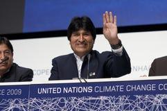 Evo Morales Royalty Free Stock Image