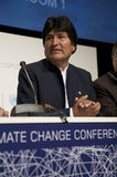 Evo Morales Stock Photo