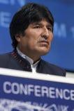 Evo Morales Stock Photo