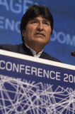 Evo Morales Royalty Free Stock Images