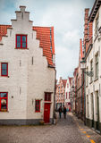 Evocação de Bruges - de Vermeer imagem de stock royalty free