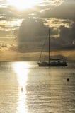 Evocative seascape in Sardinia Stock Image