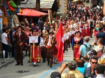 Evolene Festival Stock Images