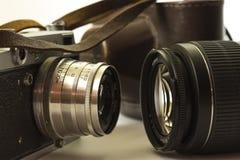 Evolução da fotografia Imagens de Stock Royalty Free
