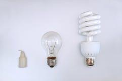 Evolução da iluminação fotos de stock royalty free