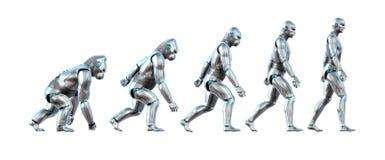 A evolução da tecnologia ilustração do vetor