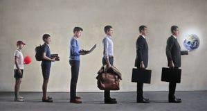 Evolução da vida Fotografia de Stock Royalty Free