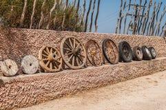 Evolução das rodas fotografia de stock
