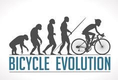Evolução do homem Foto de Stock Royalty Free