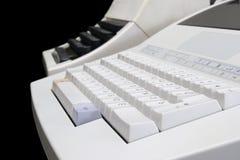 Evolução do teclado Imagem de Stock Royalty Free