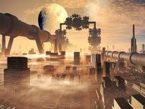 Evolução industrial Imagens de Stock