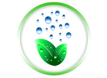 Evolução verde ilustração stock