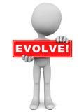 Evolua ilustração royalty free