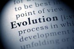 Evolución Fotografía de archivo libre de regalías