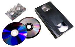 Evolución de formatos Foto de archivo