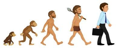 Evolución Foto de archivo libre de regalías