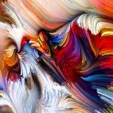 Evoluerende Vloeibare Kleur Royalty-vrije Stock Foto's