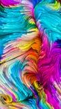 Evoluerende Vloeibare Kleur royalty-vrije illustratie