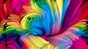 Evoluerende Vloeibare Kleur vector illustratie