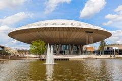 Evoluon大厦在艾恩德霍芬,荷兰 免版税库存照片