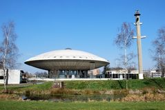 Evoluon a flying saucer-like Dome in Eindhoven Stock Photo