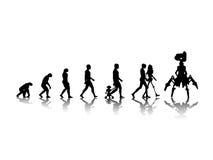 Evolutie Royalty-vrije Stock Foto's