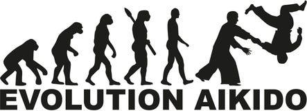 Evolutie Aikido Stock Foto