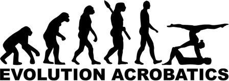 Evolutieacrobatiek Royalty-vrije Stock Afbeelding