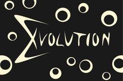 Evolution. Illustration of an evolution background Royalty Free Stock Image