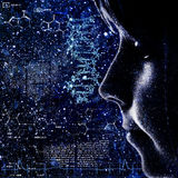 Evolution. Abstract science backrounds Stock Image