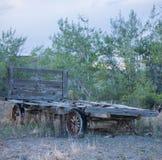 Evolution av vagnhjulet arkivbild