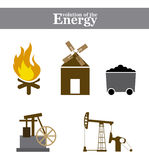 Evolution of the energy Royalty Free Stock Photo