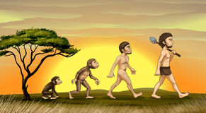 Evolution of man Royalty Free Stock Photography