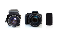 The Evolution of Photography. Stock Photo