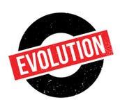 Evolution rubber stamp Stock Image