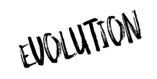 Evolution rubber stamp Stock Images