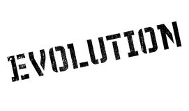 Evolution rubber stamp Royalty Free Stock Photos