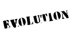 Evolution rubber stamp Stock Photo