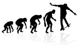 Evolution of a Skateboarder