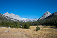 Evolution Valley in Kings Canyon National Park Royalty Free Stock Photo
