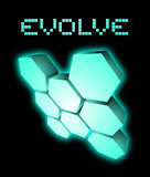 Evolve emblem Stock Photos
