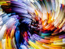 Evolving Color Royalty Free Stock Images
