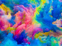 Evolving Colors Royalty Free Stock Photos