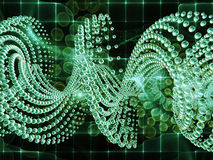 Evolving DNA Stock Photo