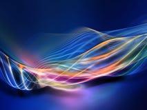 Evolving Fractal Waves Stock Photos