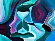 Free Evolving Mind Shapes Royalty Free Stock Image - 62655526