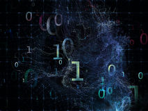 Evolving Numbers Stock Photography