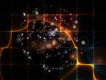 Evolving Particle Grid Stock Images