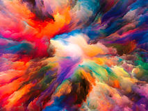 Evolving Surreal Paint Royalty Free Stock Photography